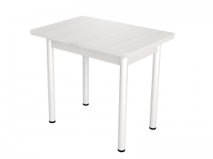 Персей-5 Стол обеденный раздвижной, Бодега Белый