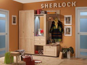 Прихожая «Sherlock» (Шерлок), Дуб Сонома. Компоновка 1