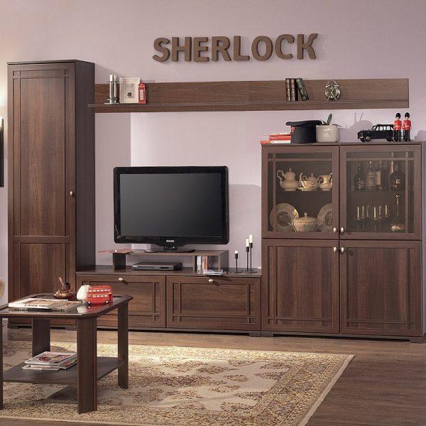 Sherlock 2 Шкаф МЦН (орех шоколадный)