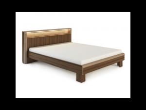 «Оливия» Модуль Кровать с подсветкой без ортопеда, без матраса