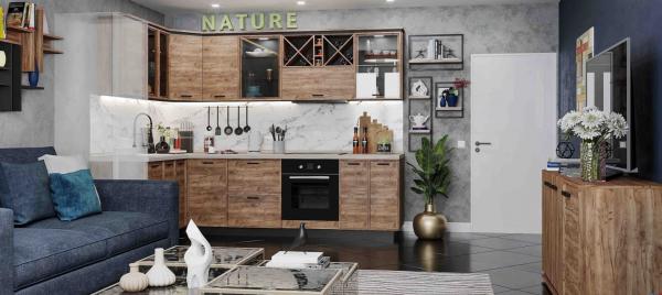 Nature кухня угловая