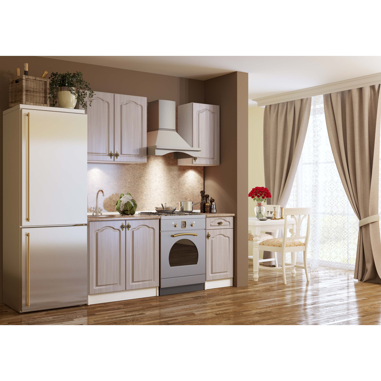 Франческа-1/1 кухонный гарнитур вудлайн кремовый (вудлайн кр.